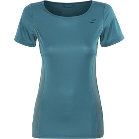 SQUARE Sport Round Neck Jersey shortsleeve Women petrol